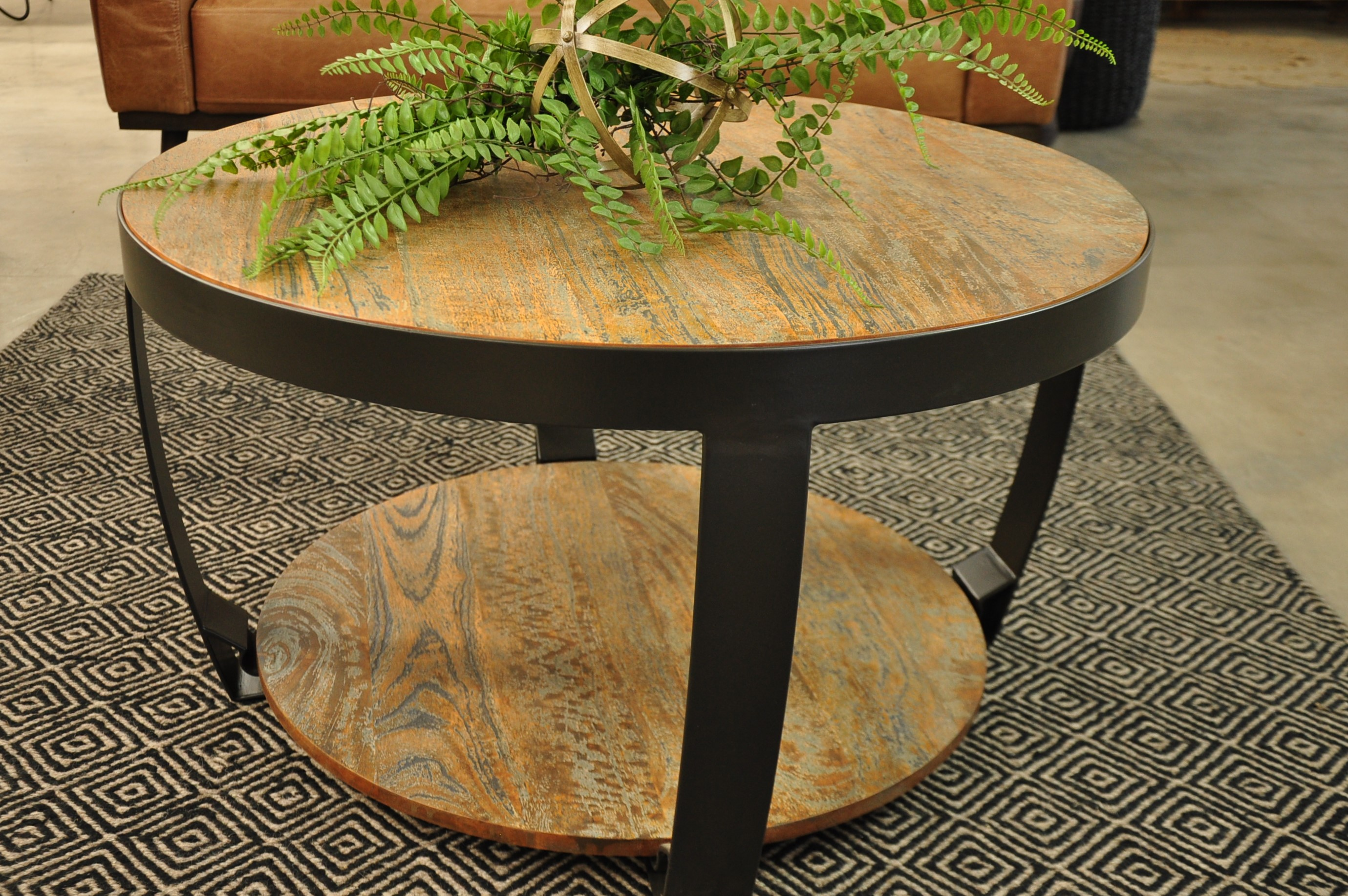- Coffee Table & Side Table: Grange Round Coffee Table Sml